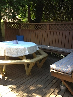 3 Deck with Picnic Table
