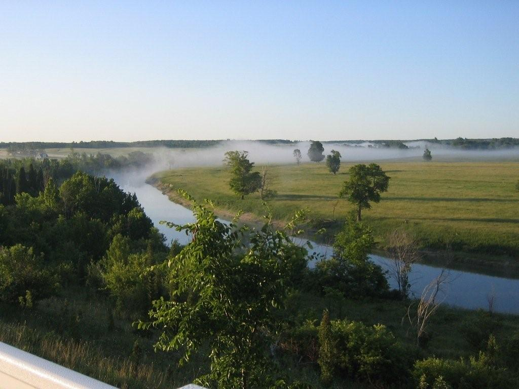 View of river from house